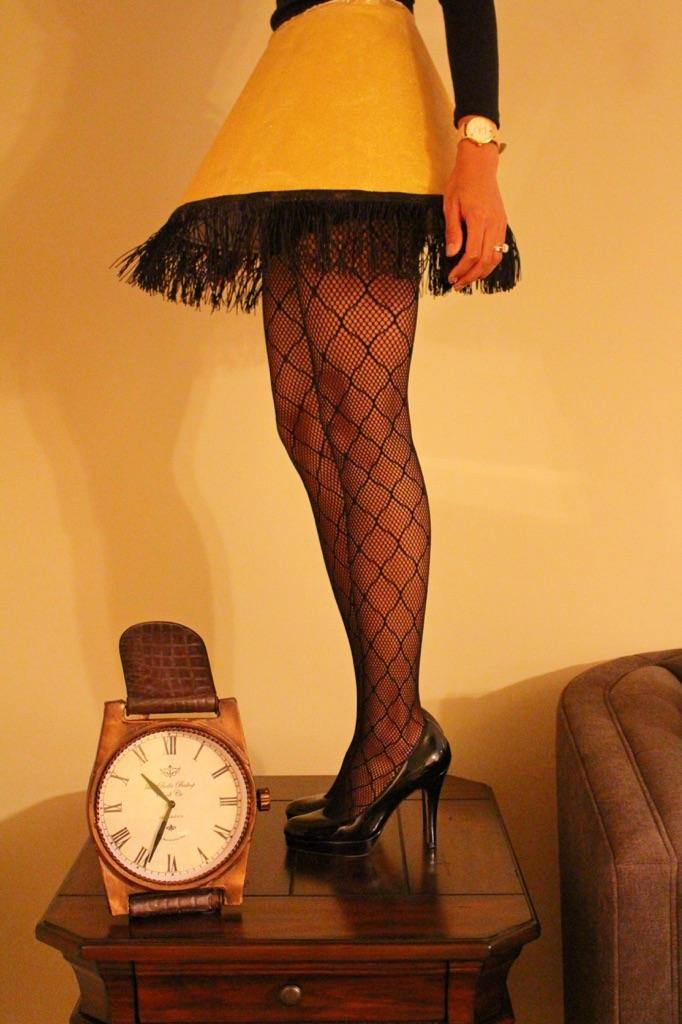 Lamp From Christmas Story Costume.Last Minute Diy Halloween Costume Leg Lamp