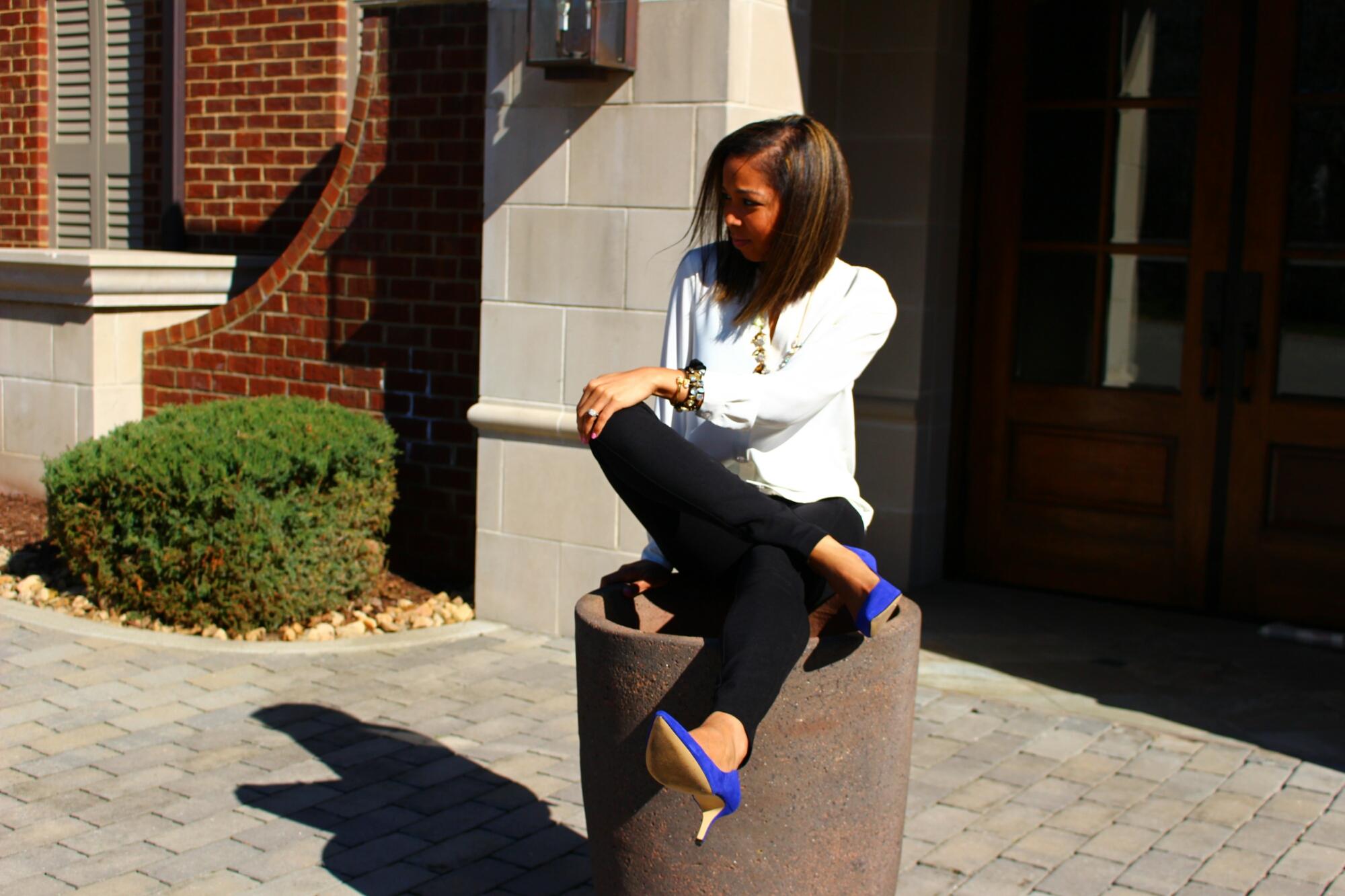 "45cf85d3aee Cobalt"" blue suede shoes"